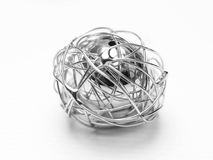 De bal van het metaal Royalty-vrije Stock Foto's