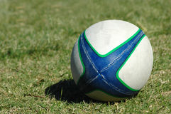 De bal van het rugby Stock Afbeelding