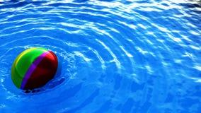 De bal van het salvo op wate Stock Afbeelding