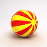 De bal van het strand Stock Afbeelding