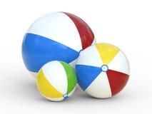 De bal van het strand Stock Foto