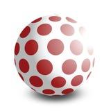 De bal van het stuk speelgoed Stock Fotografie