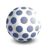 De bal van het stuk speelgoed Royalty-vrije Stock Foto's