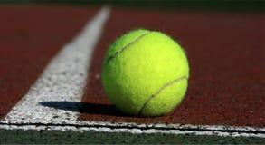 De bal van het tennis Royalty-vrije Stock Afbeeldingen