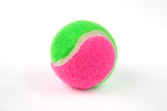 De bal van het tennis Stock Foto