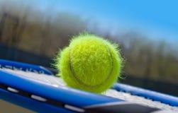 De bal van het tennis Royalty-vrije Stock Afbeelding