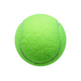 De bal van het tennis die op witte achtergrond wordt geïsoleerdc Royalty-vrije Stock Fotografie