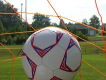Voetbalbal stock foto's
