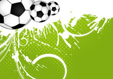 De Bal van het voetbal stock illustratie