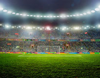 De bal van het voetbal stock afbeeldingen