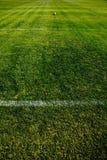De Bal van het voetbal in een Afstand Stock Afbeelding