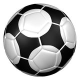 De bal van het voetbal het 3d teruggeven Royalty-vrije Stock Afbeeldingen