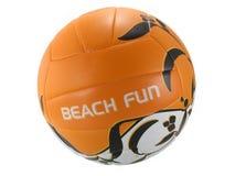 De bal van het volleyball Stock Fotografie