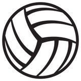 De bal van het volleyball Stock Afbeelding
