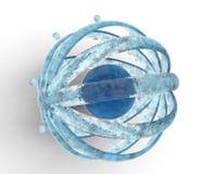 De bal van het water Royalty-vrije Stock Afbeeldingen