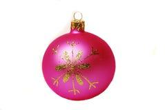 De bal van Kerstmis. Stock Foto