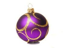 De bal van Kerstmis. Stock Foto's