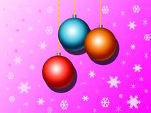 De bal van Kerstmis Stock Illustratie