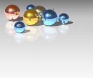 De bal van Kerstmis royalty-vrije illustratie