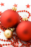 De bal van Kerstmis Royalty-vrije Stock Afbeelding