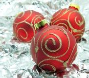 De bal van Kerstmis. Royalty-vrije Stock Foto