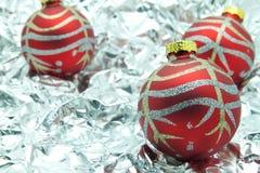 De bal van Kerstmis. Royalty-vrije Stock Afbeelding