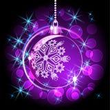 De bal van Kerstmis vector illustratie