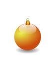 De bal van Kerstmis Royalty-vrije Stock Fotografie
