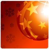 Kerstmisbal royalty-vrije stock afbeelding