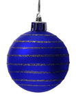 De bal van Kerstmis, het knippen weg Royalty-vrije Stock Foto's