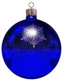 De bal van Kerstmis mirrow stock illustratie