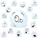 De bal van Pong Stock Afbeelding