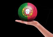 De bal van Portugal Stock Foto's