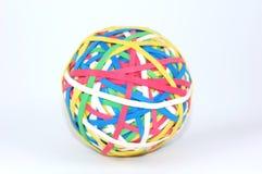 De bal van Rubberband Stock Afbeelding
