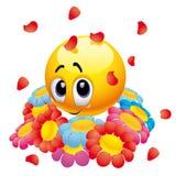 De bal van Smiley Stock Foto's