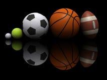 De bal van sporten Stock Afbeeldingen