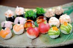 De bal van sushi Stock Fotografie