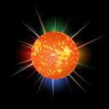 De balachtergrond van de disco stock illustratie