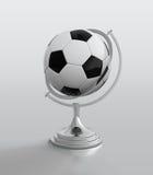 De balbol van het voetbal Stock Afbeeldingen