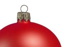 De baldecoratie van Kerstmis Stock Foto