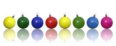 De baldecoratie van Kerstmis vector illustratie