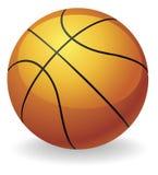 De balillustratie van het basketbal Stock Afbeelding