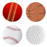De balinzameling van sporten Stock Afbeeldingen
