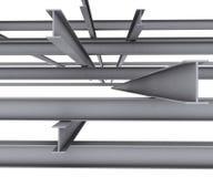 De balk van het staal royalty-vrije illustratie