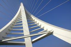 De balken van de brug royalty-vrije stock afbeeldingen
