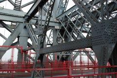 De Balken van de brug stock afbeeldingen