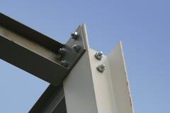 De balken van het staal stock fotografie