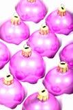 De ballen of de snuisterijen van Kerstmis Royalty-vrije Stock Fotografie