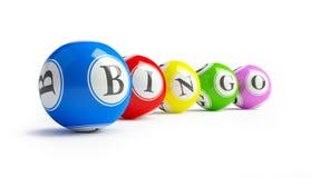 De ballen van Bingo stock foto