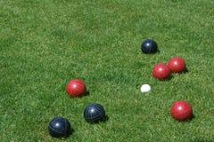 De Ballen van Bocce Royalty-vrije Stock Foto